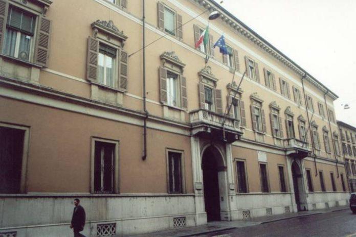 La sede della Provincia di Mantova